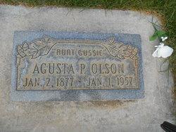 Augusta Melvina <i>Peterson</i> Olsen
