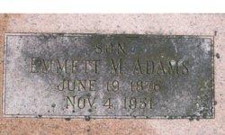 Emmett M Adams