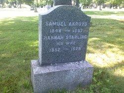 Samuel A Akroyd