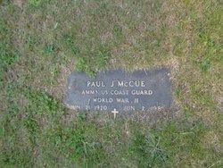 Paul J McCue