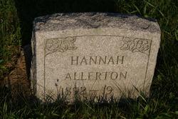 Hannah Blaker <i>Hand</i> Allerton