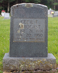 Cecil Tracey Arbogast