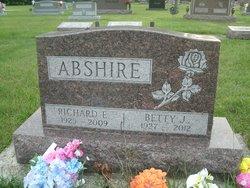 Betty Jane <i>Staudt</i> Abshire