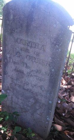 Martha W. <i>Edmondson</i> Green
