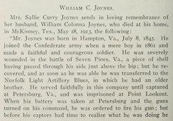 William C. Joynes