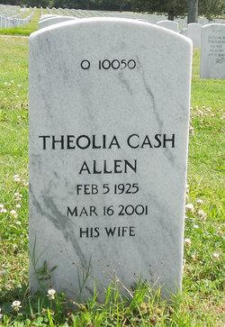 Theolia <i>Cash</i> Allen