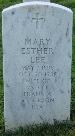 Mary Esther <i>Lee</i> Anderson
