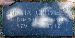 Orpha <i>Soule</i> Crowley
