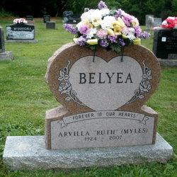 Arvilla Ruth <i>Myles</i> Belyea