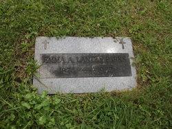 Emma A <i>Lantzy</i> Parks