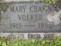 Mary Frances <i>Chafin</i> Volker