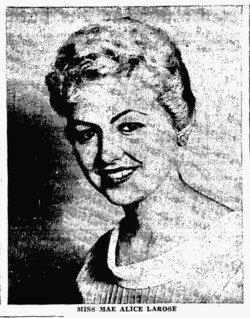 Mae Alice <i>Larose</i> Symons