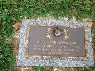 Nettie Josephine Jo <i>Sheets</i> Kowaleski