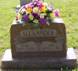 Pearl Rosalie Pearly <i>Barnfield</i> Alexander