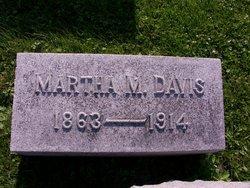Martha M <i>Sutherlin</i> Davis