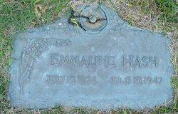 Emaline Rosa Emma <i>Grubb</i> Hash