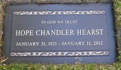Hope <i>Chandler</i> Hearst