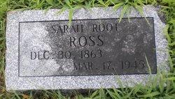 Sarah <i>Root</i> Ross