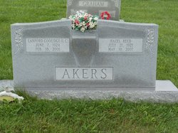 Hazel Irene <i>Reed</i> Akers