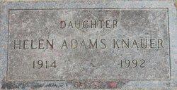 Helen <i>Adams</i> Knauer