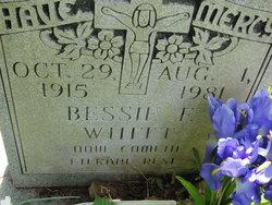 Bessie F <i>Blankenship</i> Whitt