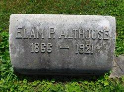 Elam P Althouse