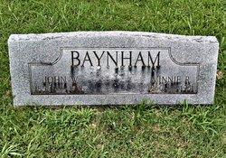 Minnie Ora <i>Richards</i> Baynham
