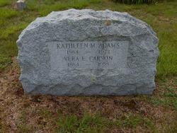 Kathleen M Adams