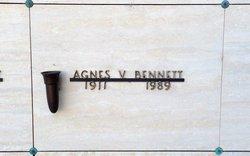 Agnes V Bennett