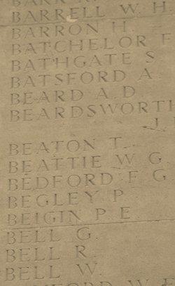Private Frederick Batchelor