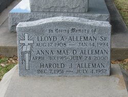 Anna <i>Delhomme</i> Alleman