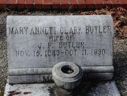 Mary Annett <i>Clark</i> Butler