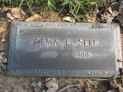 Alma Louise <i>Baker</i> Self