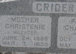 Christine <i>Wachter</i> Crider