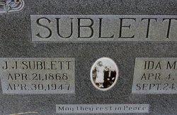 J J Sublett