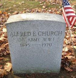 Alfred E Church