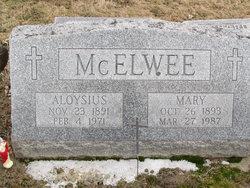 Mae E <i>Keck</i> McElwee