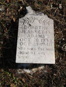 Dorothy Jeannette Adams