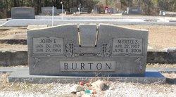 John E Burton