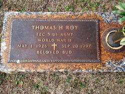 Thomas Hiram Bud Roy, Jr