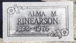 Alma M Rinearson