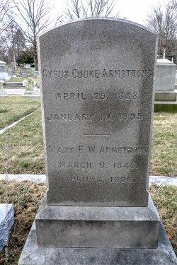 Mary Elizabeth <i>Wesley</i> Armstrong