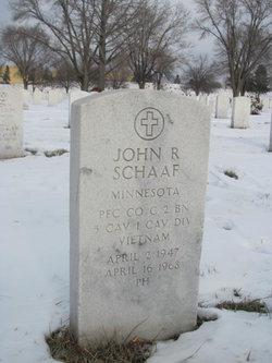 PFC John Raymond Schaaf