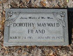 Dorothy A. <i>Maywald</i> Eiland