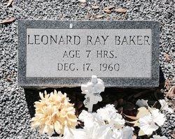 Leonard Ray Baker