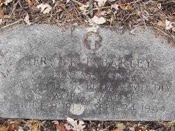 Pvt Frank E Barley