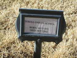 Teresa <i>Garcia</i> Acosta