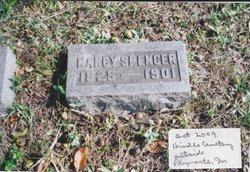 Nancy Ann <i>Burden</i> Spencer