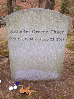 Malcolm Greene Kim Chace, III