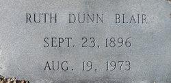 Ruth <i>Dunn</i> Blair